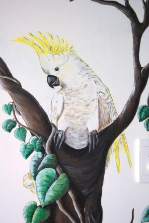 Cocattoo_mural artist Kat Smirnoff_Kat's Mural Art
