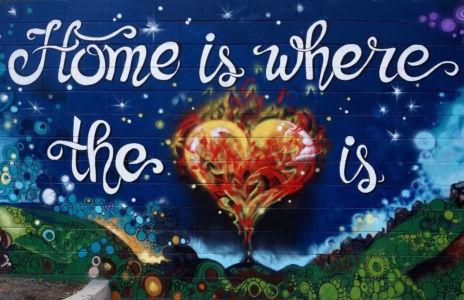 Home is where the heart is_Kat's Mural Art_Kat Smirnoff