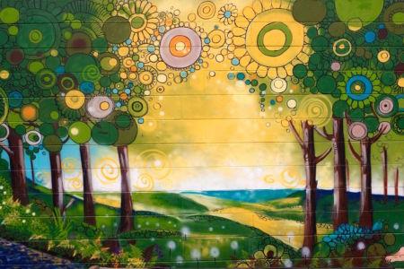 Magical Forest_Kat's Mural Art_Kat Smirnoff