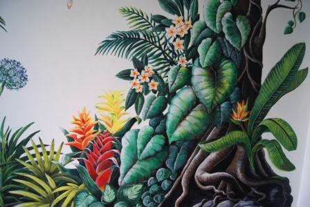 Tropical Dream mural_Kat Smirnoff