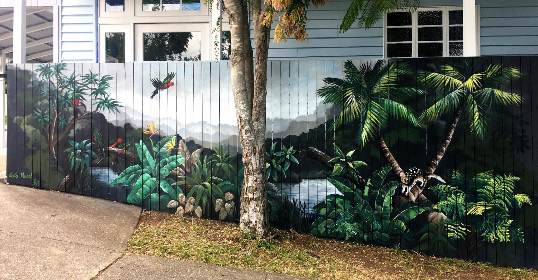 Compass Kids Clinic 1 - Kat's Mural Art